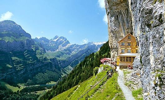 Aescher, Berggasthaus