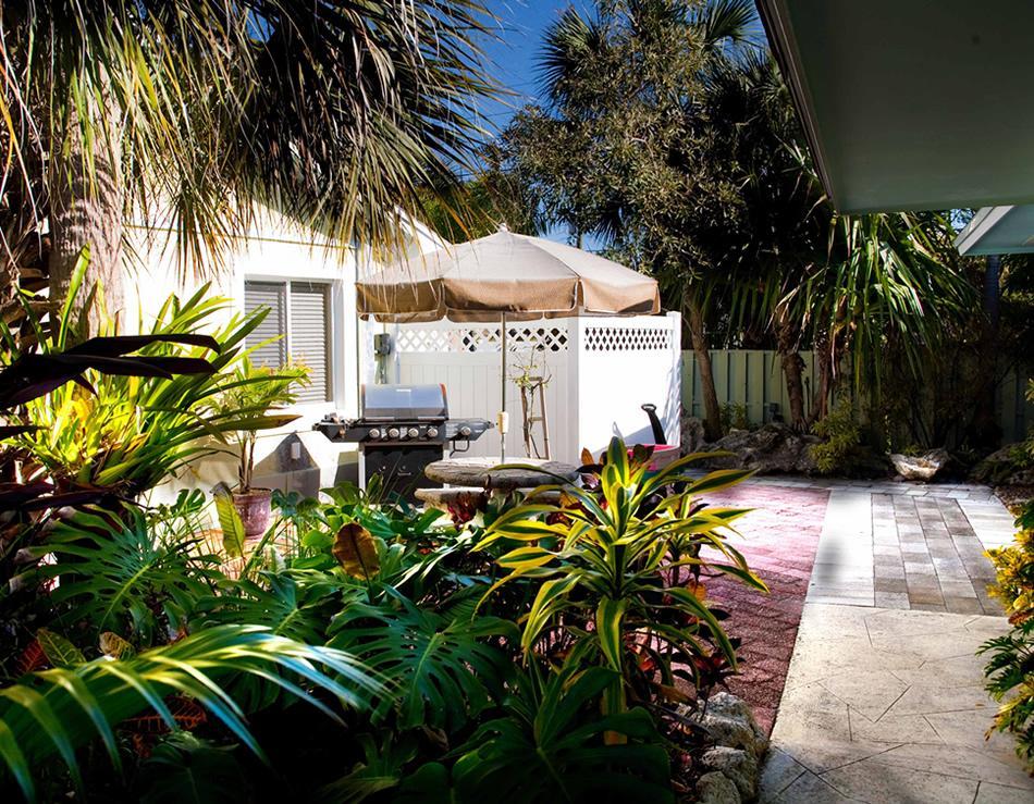 An Island Getaway at Palm Tree Villas