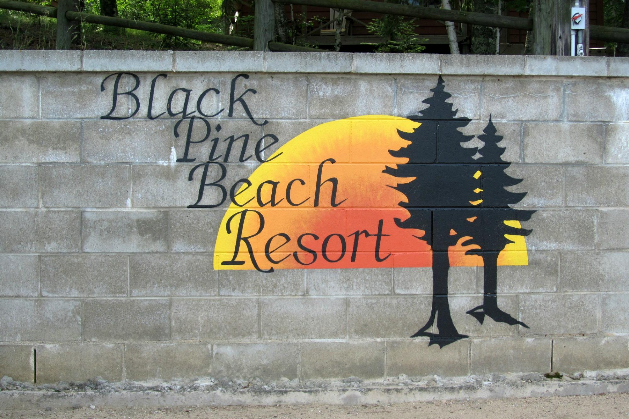 ‪Black Pine Beach Resort‬