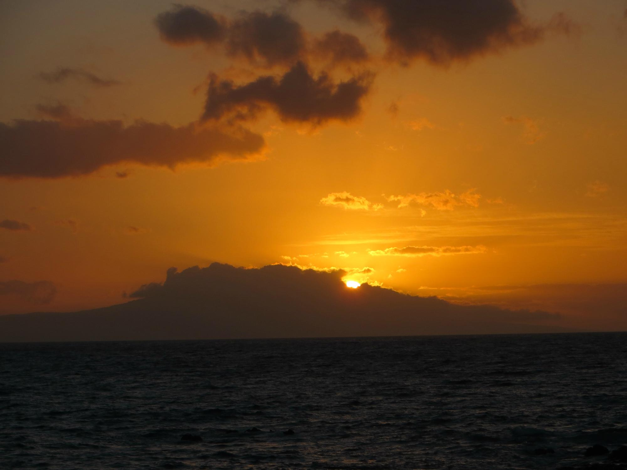 Near Makena Beach sunset