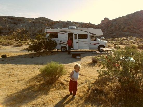 Red Rock Canyon State Park Ricardo Campground