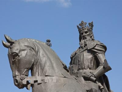 ‪King Kasimir the Great Monument‬