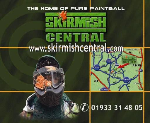 ‪Skirmish Central Paintball‬
