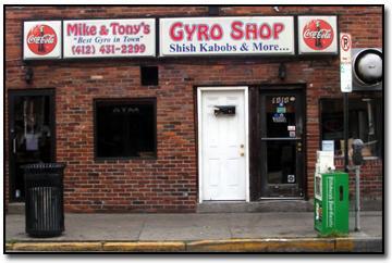 Mike & Tony's Gyros
