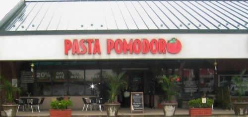 Lamberti's Pasta Pomodoro
