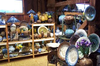 Campbell Pottery Store and Gallery