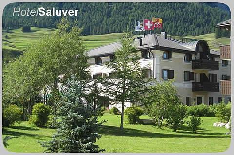 Restaurant im Hotel Saluver