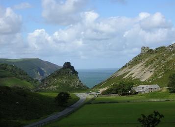 Valley of Rocks Walk-South West Coast Path