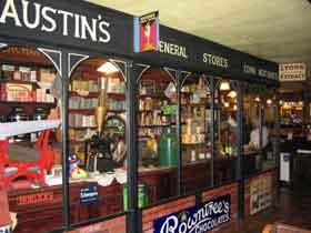 Austin's Yesteryear Grocers Shop