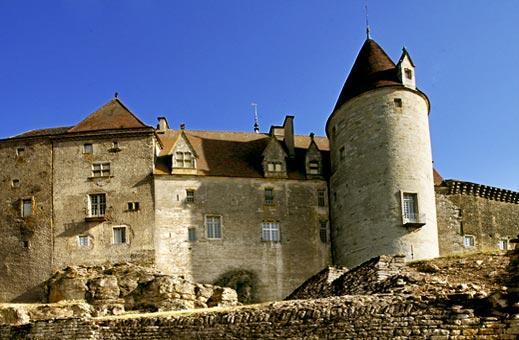 Chateau de Chateauneuf-en-Auxois