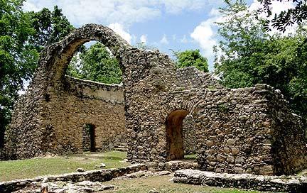 Oxtankah Ruins