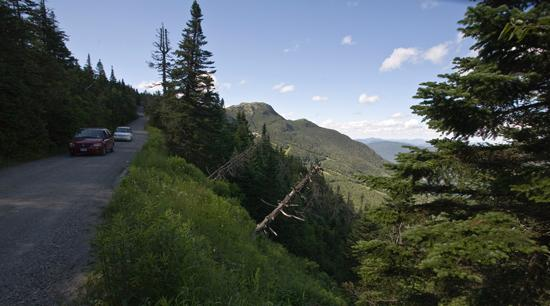 Stowe Mountain Auto Toll Road