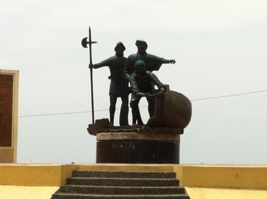 Magellan's Landing Site