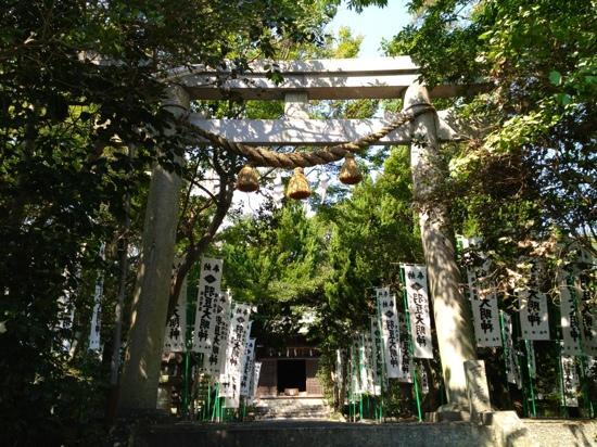 Morozaki Hazu Cape (Hazu Jinja Shrine)