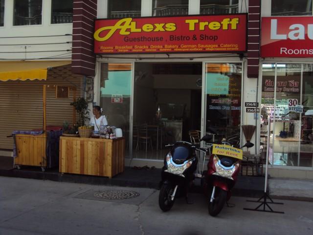 Alexs Treff, Guesthouse Bistro & Shop