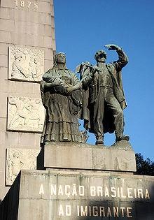 Monumento Nacional ao Imigrante