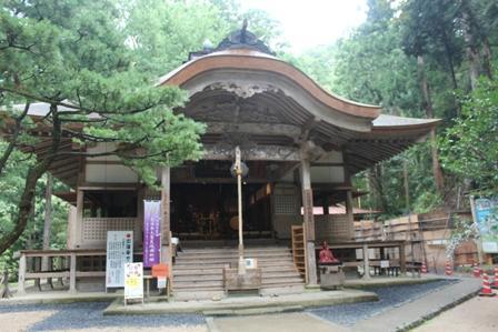 三佛寺 本堂