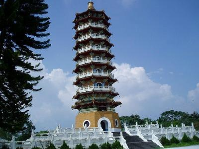 Sun Moon Lake Ci-en Pagoda