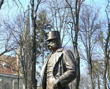 Franz Joseph I Statue