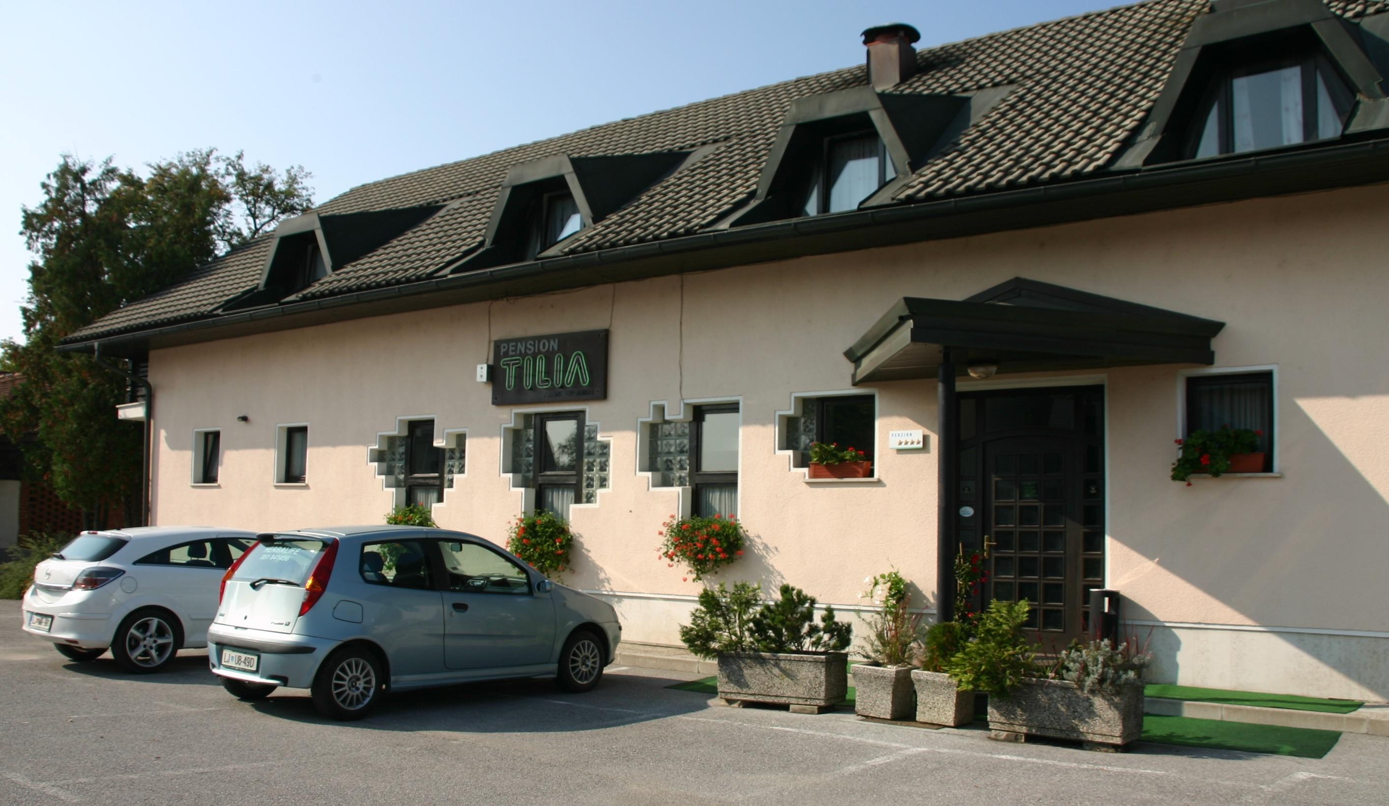 Penzion in Restavracija Tilia