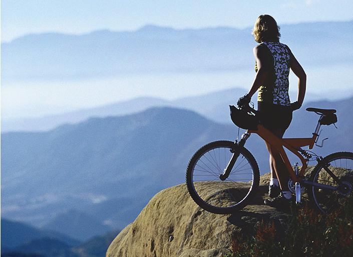 Beautiful Santa Fe bike trail