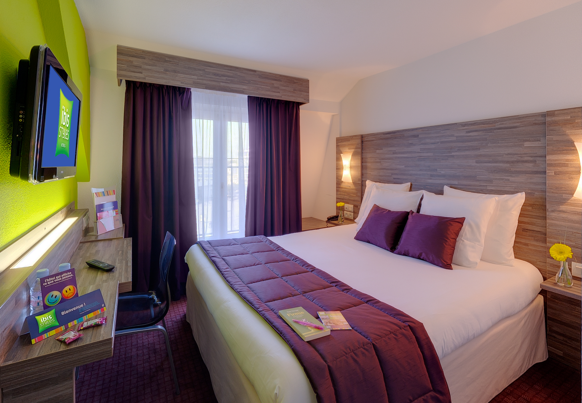 Hotel Ibis Styles Rennes Centre Gare Nord