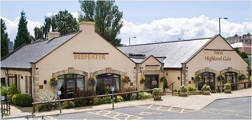 West Highland Gate Beefeater