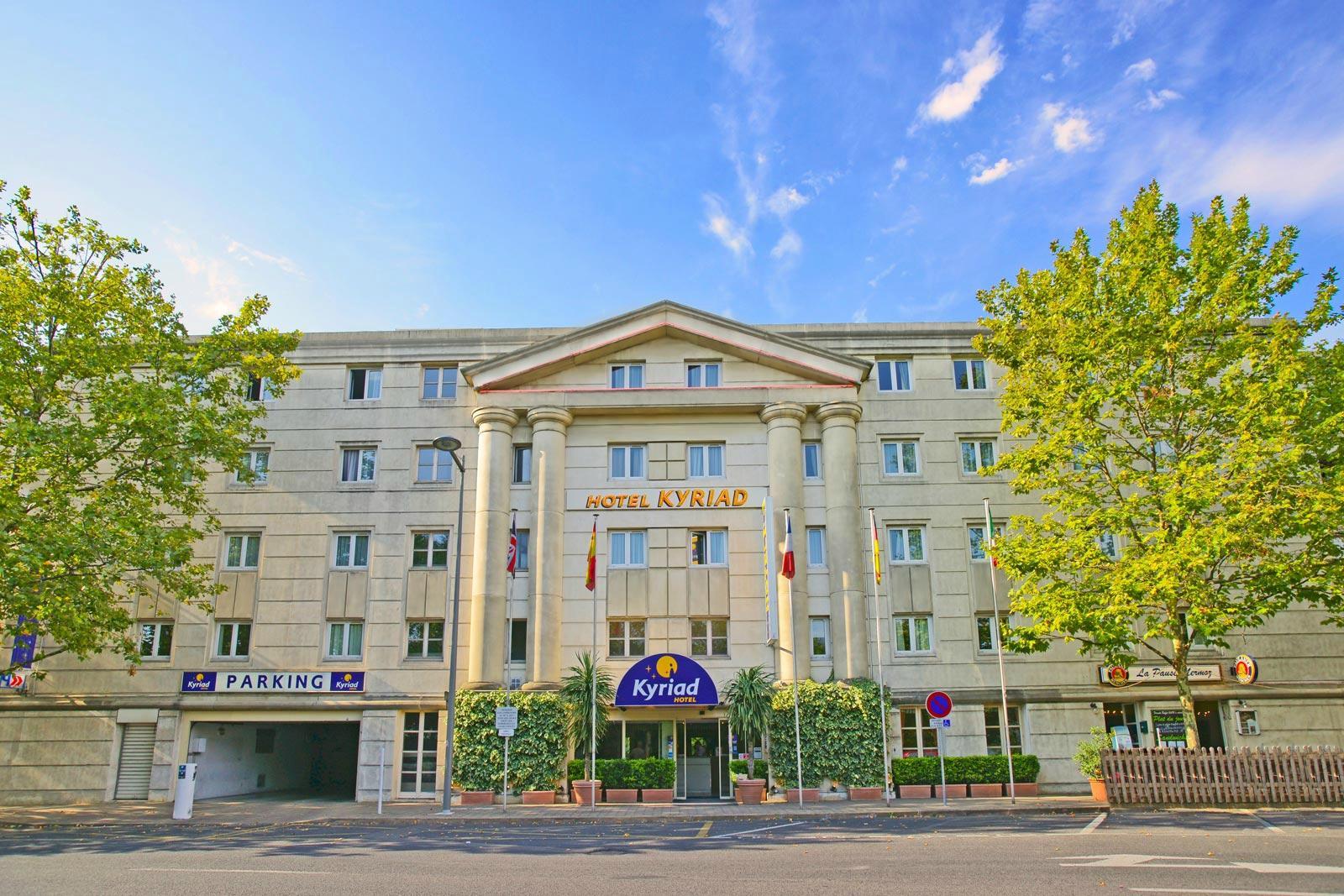 基里亞德蒙佩里爾中央安蒂格納酒店