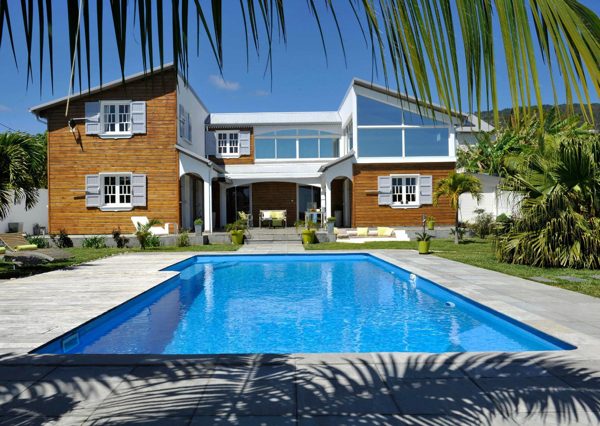 La Villa Des Cannes B&B Sainte Marie Ile de La Réunion voir