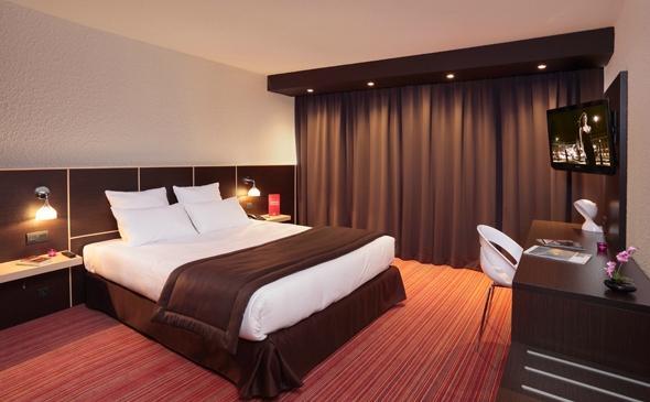 格勒諾布爾阿爾佩克斯博典雅公園套房飯店