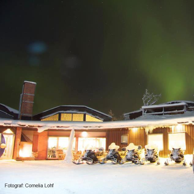 Máttaráhkká - Northern Light Lodge