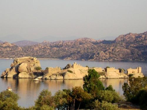 Castle in Lake(Kapıkırı Village-Bafa)