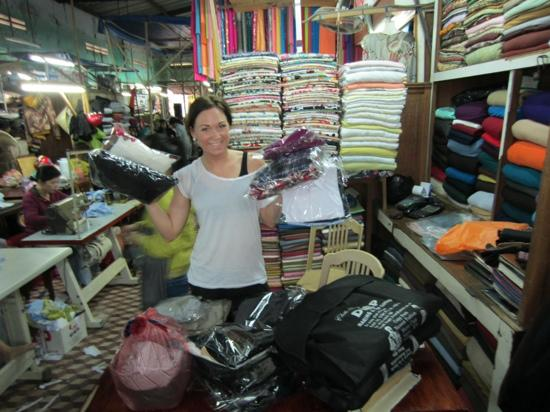 Hoi An Cloth Market