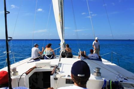FE Catamaran Sail and Snorkel Cozumel