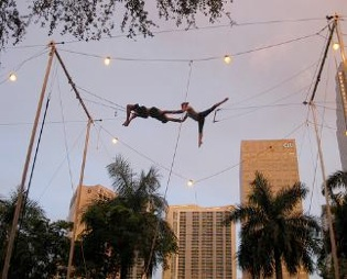 ‪The Flying Trapeze School‬