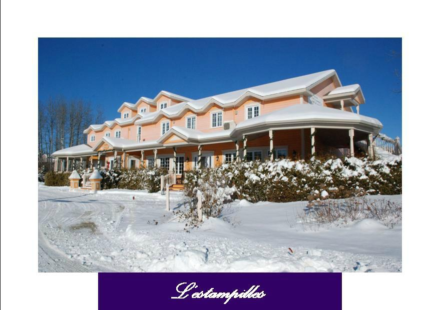Auberge l 39 estampilles baie st paul kanada omd men och for Auberge maison otis