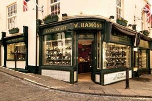W Hamond Original Whitby Jet Shop