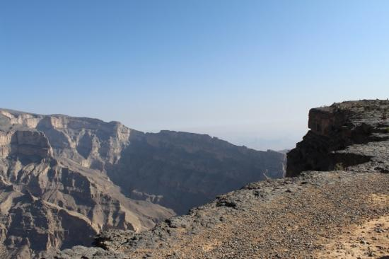 Wadi Nakhr Canyon