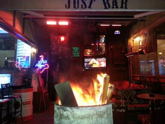 just bar