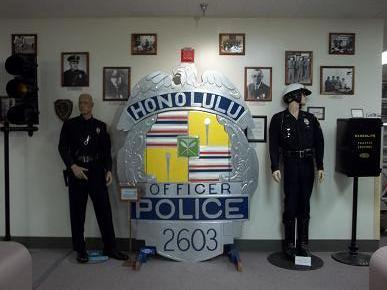 Honolulu's Police Department Museum