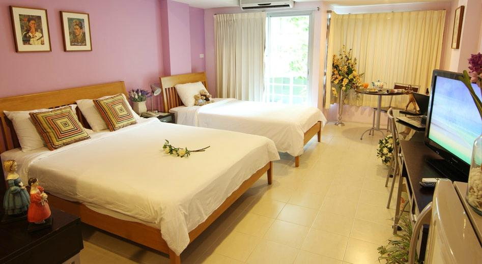 Caza v1 serviced apartment rayong thailand omd men for Bedroom 77 hotel rayong
