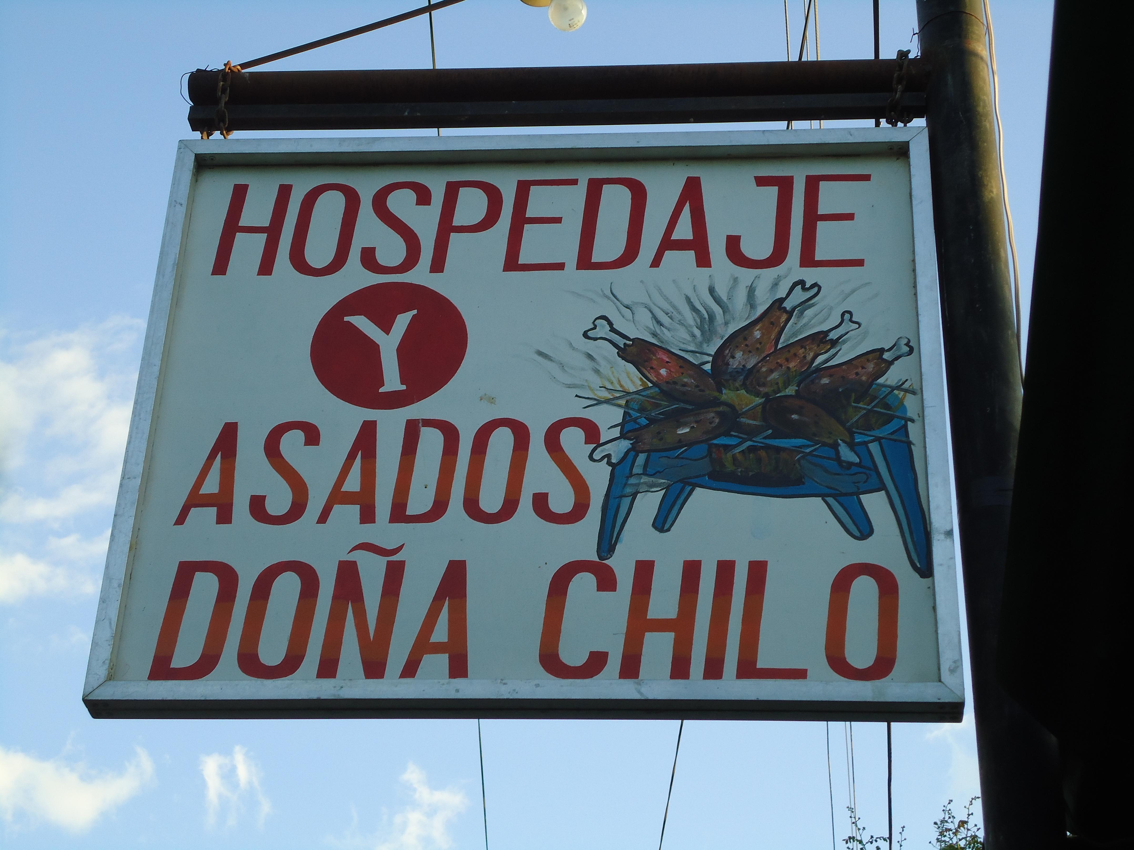 Asados y Hospedaje Dona Chilo