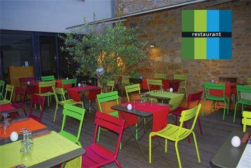 Restaurant Terrasse Vert Tige