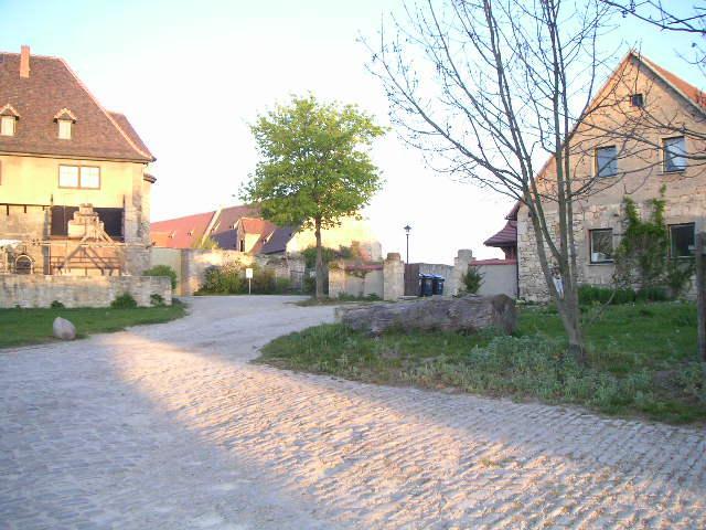 Siedlerhaus auf Schloss Neuenburg
