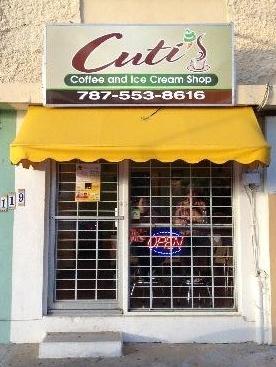 Cuti's Coffee & Ice Cream Shop