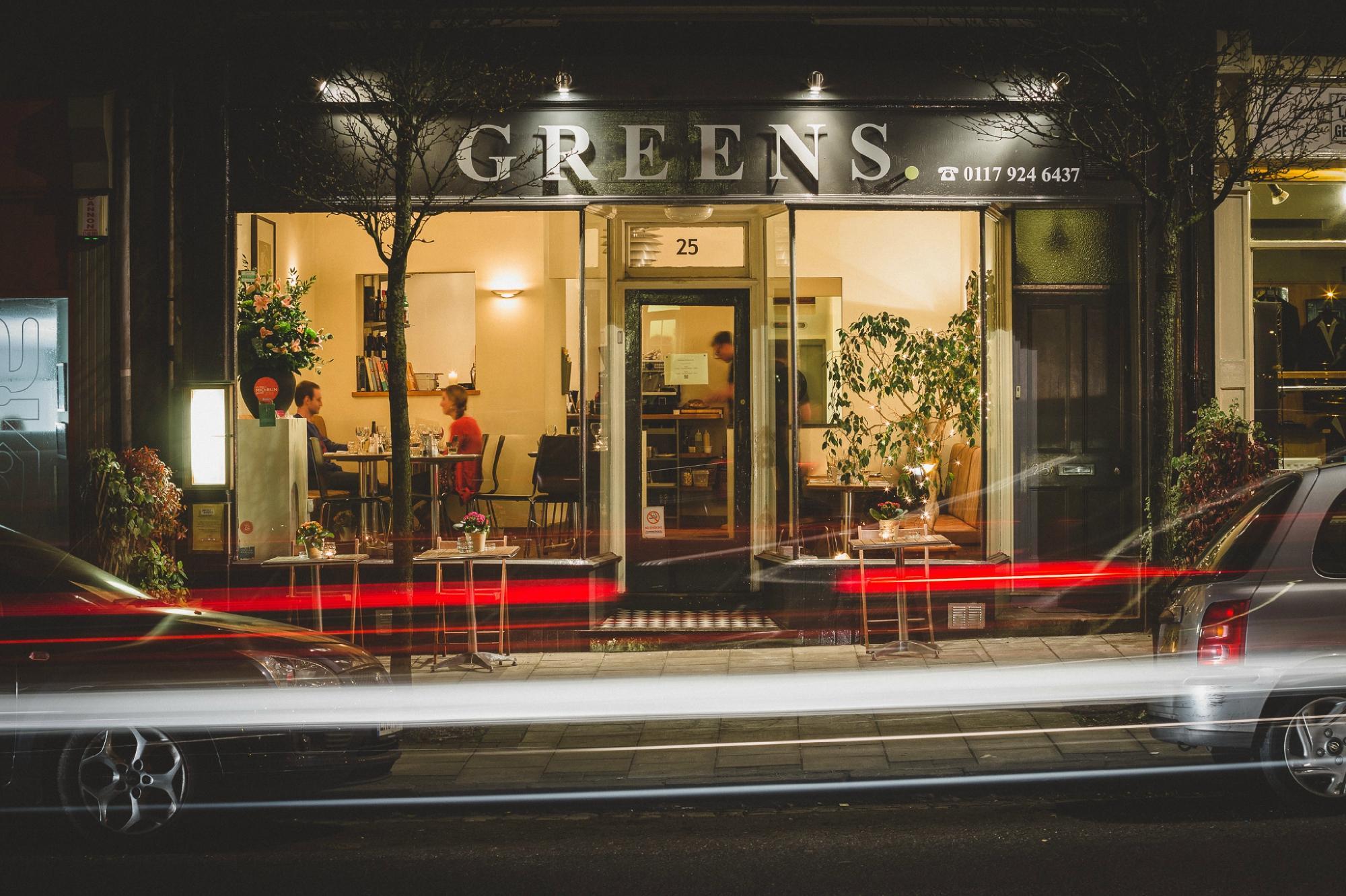 Greens restaurant for Greens dining room zetland road bristol