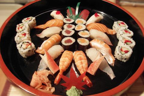 Holiday Garden & Dodai Sushi