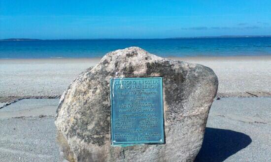 Foster Memorial Beach