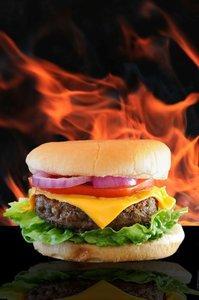 Grumpy's Flame Burger