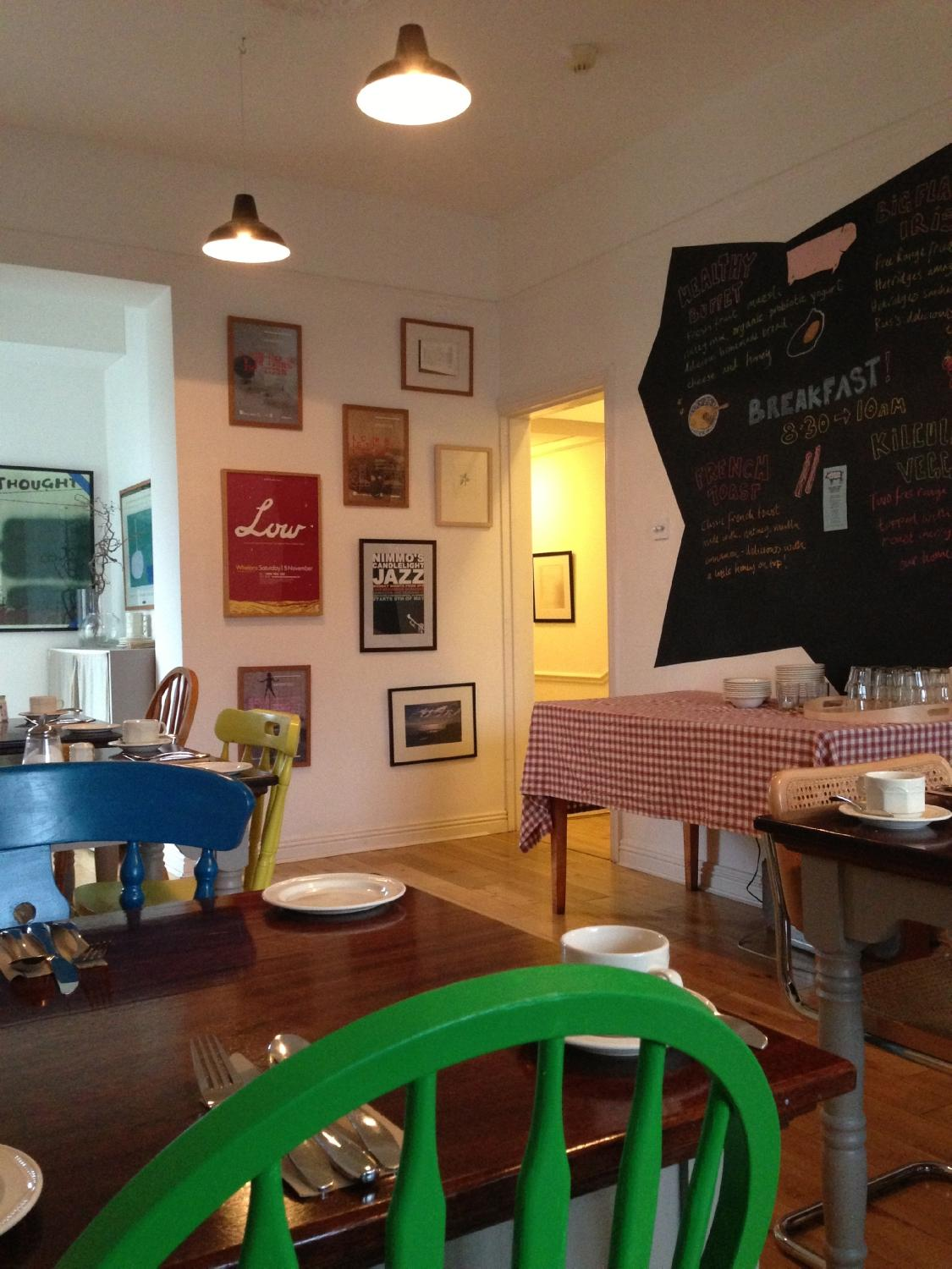 the stop b&b at Kilcullen House